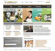 Insurance - Website template