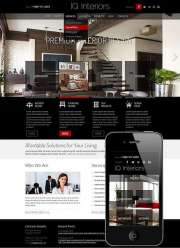 Interior Design - Wordpress templates