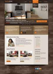 Interior Design - HTML template
