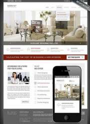 Interior Designing - Wordpress templates