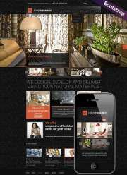 Interior and decore - HTML template