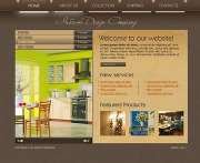 Interior design - Flash template