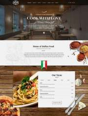 Italian Restaurant - Wordpress templates