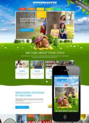 Kids Land - Wordpress templates