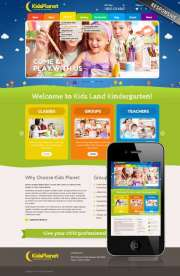 Kids Planet - Wordpress templates