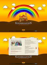 Kindergarten World - Easy flash templates