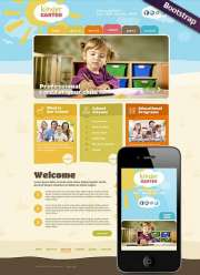 Kindergarten - Wordpress templates