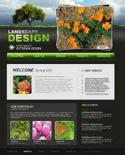 Landscape design - Website template