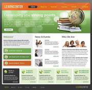 Learning Center - HTML template