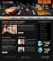 Leasing - Website template