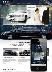 Limo Service - HTML template