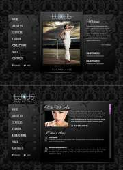 Luxus Fashion - HTML5 templates