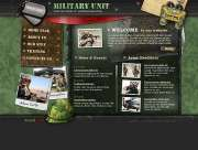 Military unit - Flash template
