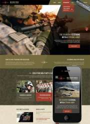 Military - Wordpress templates