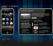 Mobile business - Flash template