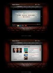 Movie Theatre - HTML5 templates