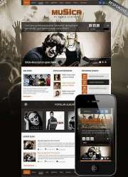 Music Theme - Wordpress templates
