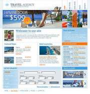 New Travel - Website template