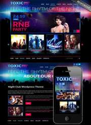 Night Club - Wordpress templates