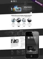 PC repair service - HTML template