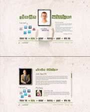 Personal Page - HTML5 templates