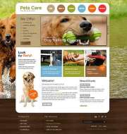 Pet Care - HTML template