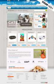 Pets Store - OpenCart templates