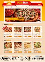 Pizza Store - OpenCart templates