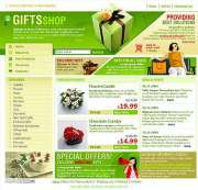 Presents - HTML template