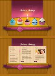 Private Bakery - HTML5 templates