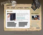 Private detective - Flash template