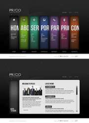 Public Relations - HTML5 templates