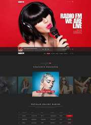 RADIO FM - Wordpress templates
