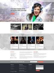 Radio One - Wordpress templates