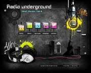 Radio underground - Easy flash templates