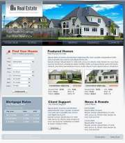 Real Estate - Website template