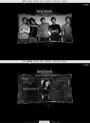 Real Rock - HTML5 templates