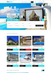 RealEstate - HTML template