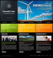 Renewable Power - HTML template