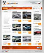 Rent a car - osCommerce