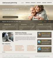 Retirement Planning - HTML template