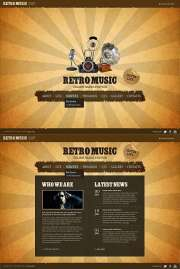 Retro Radio - HTML5 templates