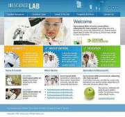 Science Lab - HTML template
