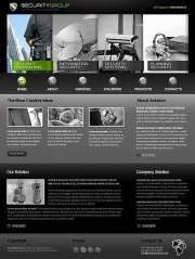 Security Service - Website template