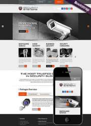 Security Service - HTML template