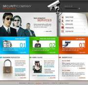 Security - Website template