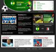 Soccer Club - Website template