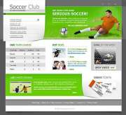 Soccer - Website template