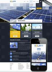 Solar Energy - Wordpress templates