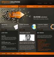 Solutions - Website template